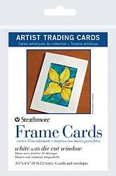 STRATHMORE STRATHMORE ARTIST TRADING CARDS FRAME CARDS 6/PK