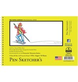BEE PAPER BEE PAPER PEN SKETCHERS PAD 5.5X8.5 70LB  50SHT
