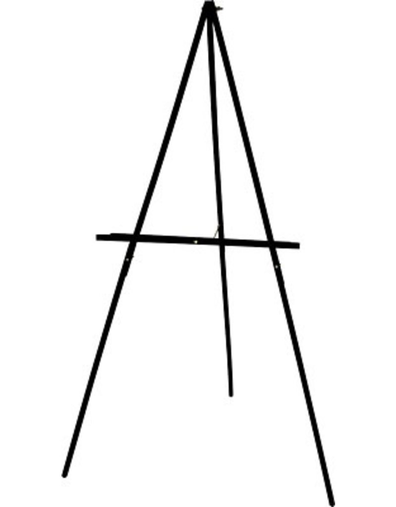 ART ADVANTAGE ART ADVANTAGE FLOOR DISPLAY EASEL BLACK    E211-BLK