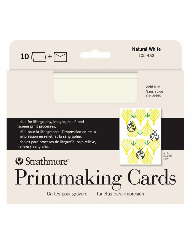 STRATHMORE STRATHMORE PRINTMAKING CARDS WITH ENVELOPES 5X7 10/PK    105-433