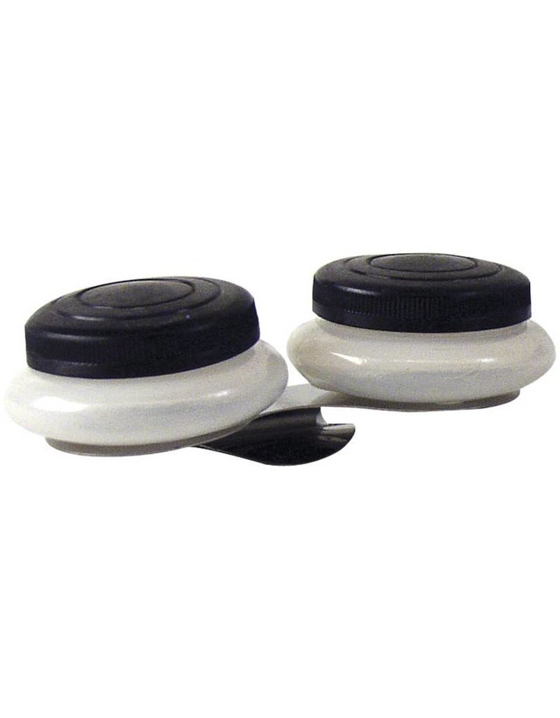 PRO ART PRO ART DOUBLE PLASTIC PALETTE CUP WITH CAPS   6950-8