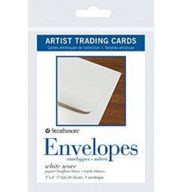 STRATHMORE STRATHMORE ARTIST TRADING CARDS ENVELOPES 5/PK