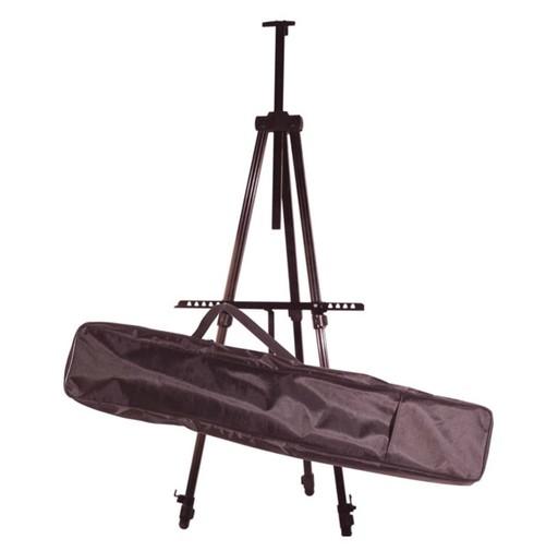 art advantage art advantage aluminum field easel with case black