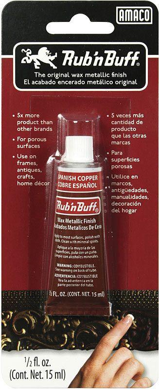 AMACO RUB N BUFF SPANISH COPPER 15ML    AMA-76368H