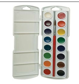 DIXON PRANG OVAL WATERCOLOUR PAN SET/16