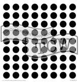 TEMPLATE TCW203S 6X6 CIRCLE GRID