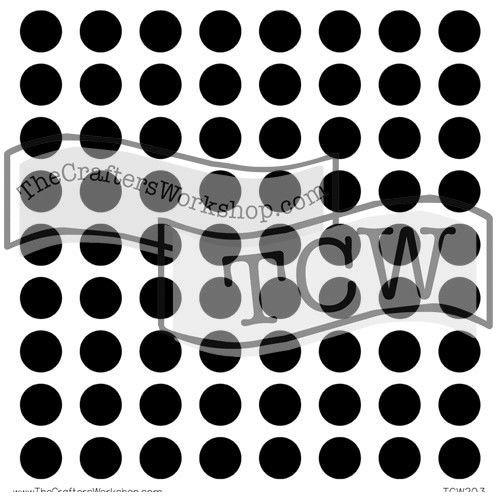template tcw203s 6x6 circle grid colours artist supplies