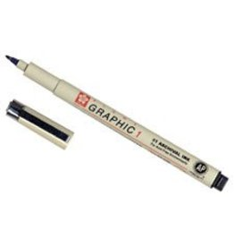 SAKURA PIGMA GRAPHIC CALLIGRAPHY PEN 1.0 BLACK