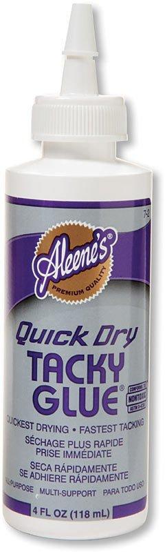 ALEENE'S QUICK DRY TACKY GLUE 4OZ