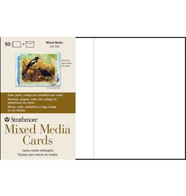 STRATHMORE STRATHMORE MIXED MEDIA CARDS 5X8.67 50/PK