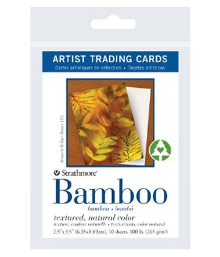 STRATHMORE STRATHMORE ARTIST TRADING CARDS BAMBOO PAPER 10/PK    105-913