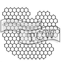 TEMPLATE TCW259S 6X6 CHICKEN WIRE REVERSED