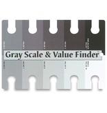 COLOR WHEEL COMPANY GRAY SCALE / VALUE FINDER