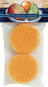 PRO ART PRO ART SYNTHETIC SPONGES 2/PK