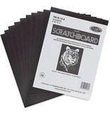 SCRATCHBOARD BLACK 11X14 12/PACK