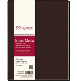 STRATHMORE STRATHMORE ART JOURNAL MIXED MEDIA HARDBOUND 8.5X11  90LB    STR-566-8