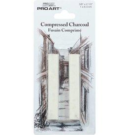PRO ART PRO ART COMPRESSED CHARCOAL WHITE 2/PK