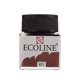 ECOLINE LIQUID WATERCOLOUR 411 BURNT SIENNA 30ML