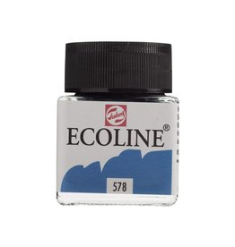 ECOLINE LIQUID WATERCOLOUR 578 SKY BLUE CYAN 30ML