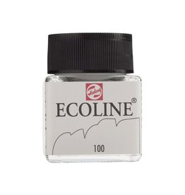 ECOLINE LIQUID WATERCOLOUR 100 WHITE 30ML