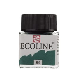 ECOLINE LIQUID WATERCOLOUR 602 DEEP GREEN 30ML