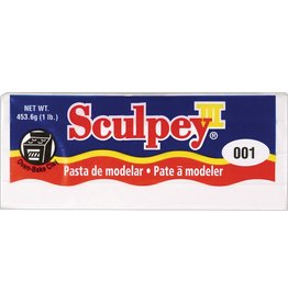 SCULPEY SCULPEY III CLAY WHITE 1LB