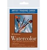 STRATHMORE STRATHMORE ARTIST TRADING CARDS WATERCOLOUR 10/PK    105-904
