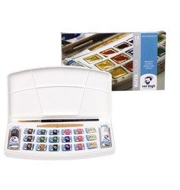 VAN GOGH WATERCOLOUR POCKET BOX SET/18