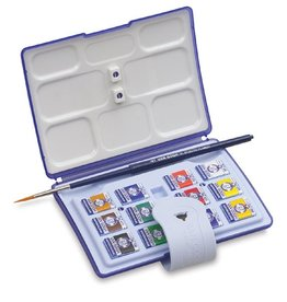 VAN GOGH WATERCOLOUR POCKET BOX 12 PAN