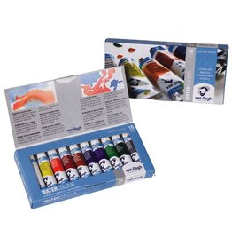 VAN GOGH WATERCOLOUR BASIC SET 10X10ml