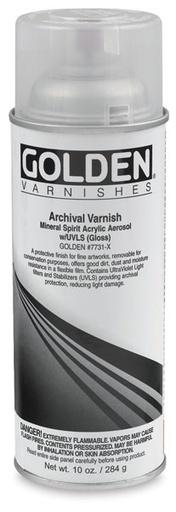 GOLDEN GOLDEN ARCHIVAL VARNISH MATTE UVLS 12OZ