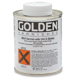 GOLDEN GOLDEN MSA VARNISH W/ UVLS GLOSS 4OZ