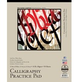 BEE PAPER BEE PAPER CALLIGRAPHY PRACTICE PAD 11X14 WHITE  50SHT