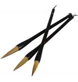 ART ADVANTAGE SUMI BRUSH SET/3 WOLF/WEASEL HAIR    ART-S8729