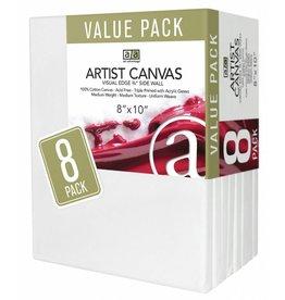 ART ADVANTAGE ART ADVANTAGE STRETCHED CANVAS BULK 12X16 6/PK