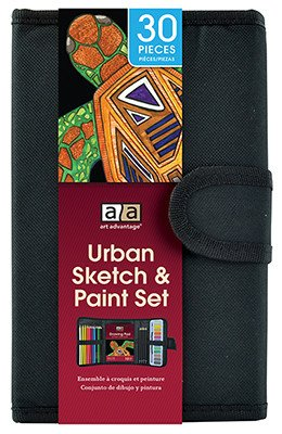 ART ADVANTAGE ART ADVANTAGE URBAN SKETCH & PAINT SET