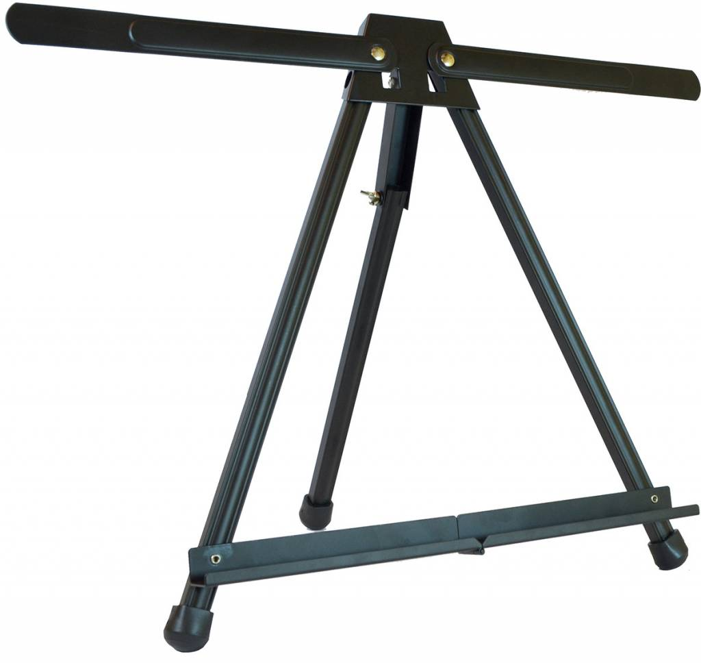 ART ADVANTAGE ART ADVANTAGE BLACK ALUMINUM MULTI PURPOSE TABLE EASEL