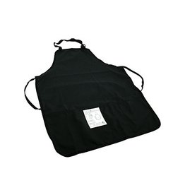 TRAN TRAN DUCK CANVAS APRON BLACK 10OZ