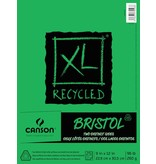 CANSON CANSON XL RECYCLED BRISTOL 96LB TAPE BOUND  25/SHT