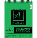 CANSON CANSON XL RECYCLED DRAWING 70LB TOP COIL  60/SHT