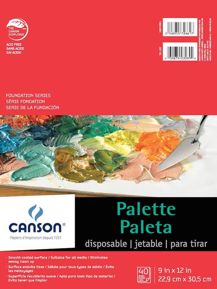 CANSON CANSON FOUNDATION DISPOSABLE PALETTE