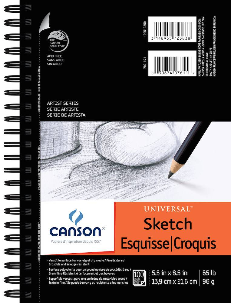 CANSON CANSON ARTIST SERIES UNIVERSAL SKETCH