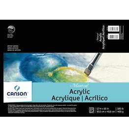 CANSON CANSON MONTVAL ACRYLIC PAD