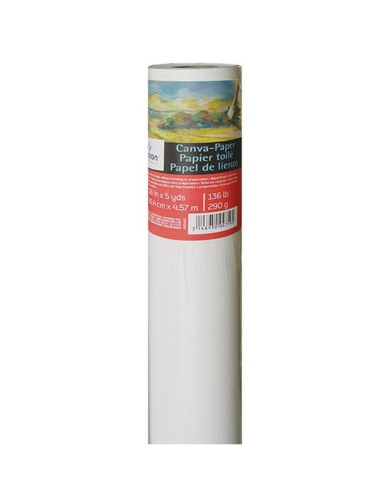 CANSON CANSON FOUNDATION CANVA-PAPER ROLL 136LB