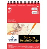 CANSON CANSON FOUNDATION DRAWING PAD 70lb