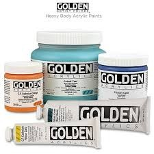 GOLDEN GOLDEN HEAVY BODY ACRYLIC