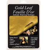 SPEEDBALL INC MONA LISA COMPOSITION GOLD LEAF 5.5X5.5 25/PK