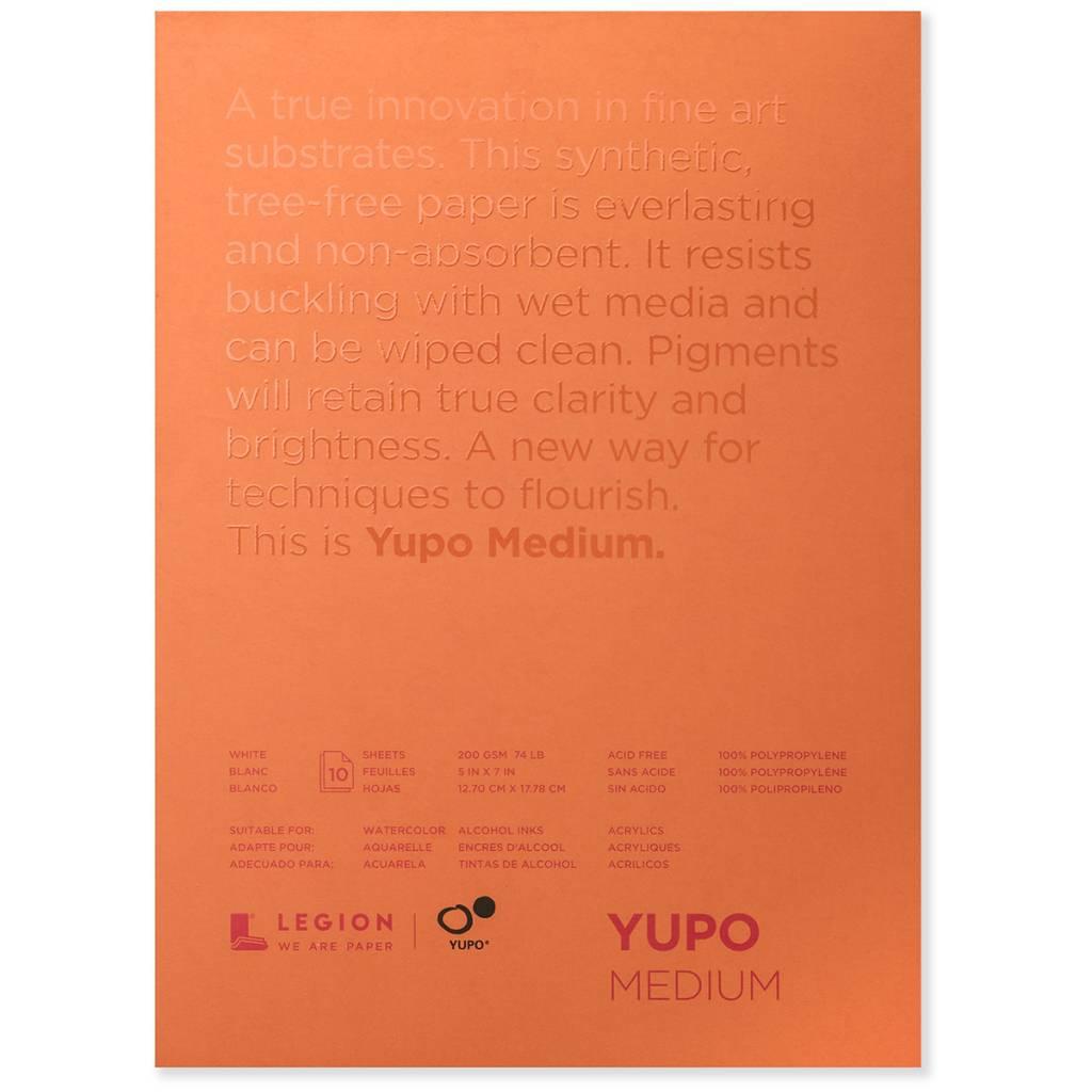 Yupo Paper Pad 5x7 Colours Artist Supplies