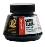 SPEEDBALL INC SPEEDBALL SUPER BLACK INDIA INK 16OZ