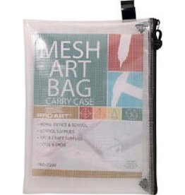 PRO ART PRO ART MESH ART BAG WITH ZIPPER AND HANDLE 15X18    7210H